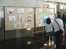 絵画造形教室の作品