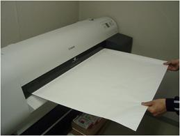 大判印刷機