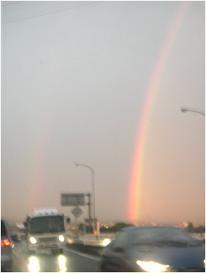 とある日の虹♪♪